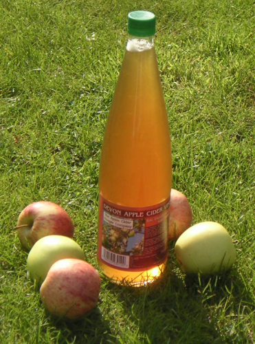 1 Litre Apple Cider Vinegar with 'Mother' (Glass Bottle)
