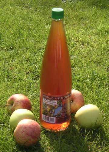 1 Litre Vintage (1985) Apple Cider Vinegar with Mother (Glass Bottle Only)