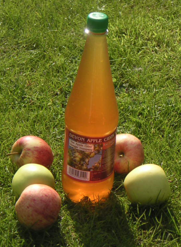 1 Litre Apple Cider Vinegar with 'Mother' (Plastic Bottle)